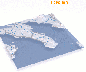 3d view of Larauan