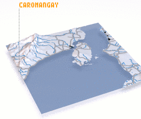 3d view of Caromañgay