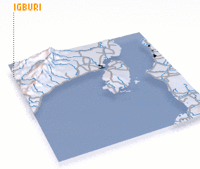 3d view of Igburi