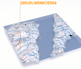 3d view of San Julian Hacienda