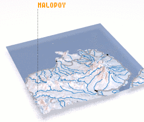 3d view of Malopoy