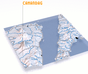 3d view of Camandag