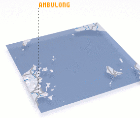 3d view of Ambulong