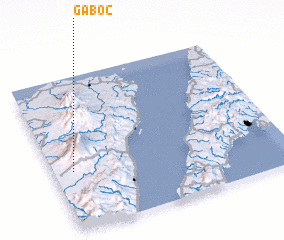 3d view of Gaboc