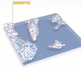 3d view of Gomentoc