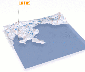 3d view of Latas