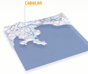 3d view of Cabalan