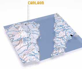 3d view of Canlaon