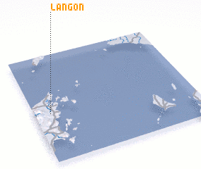 3d view of Lañgon