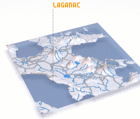 3d view of Laganac