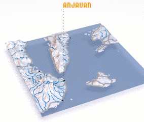 3d view of Anjauan