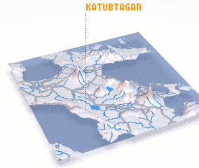 3d view of Katubtagan