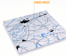 3d view of Xiaolingzi