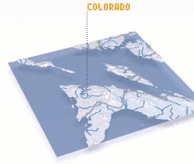 3d view of Colorado