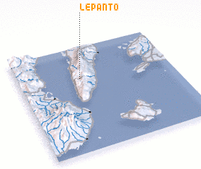 3d view of Lepanto