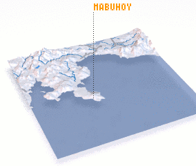 3d view of Mabuhoy