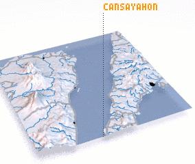 3d view of Cansayahon