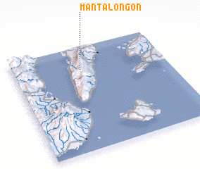 3d view of Mantalongon