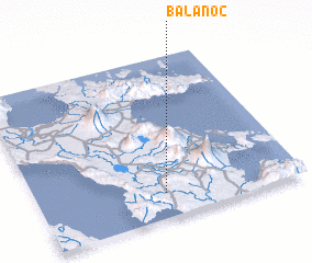 3d view of Balanoc
