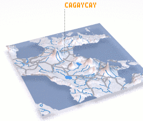 3d view of Cagaycay