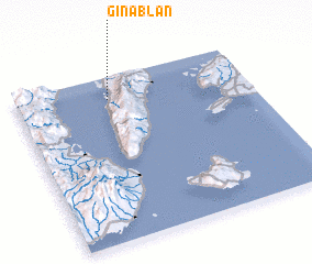 3d view of Ginablan