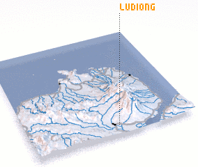 3d view of Ludiong