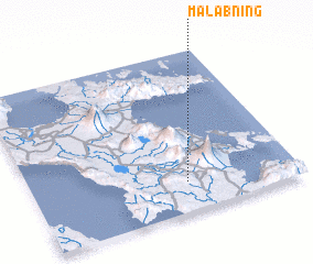 3d view of Malabning