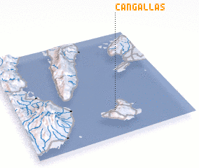 3d view of Cangallas