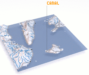 3d view of Canal