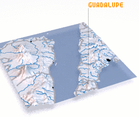3d view of Guadalupe