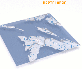 3d view of Bartolabac