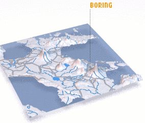 3d view of Boring