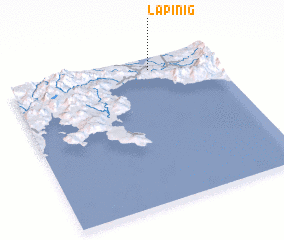 3d view of Lapinig