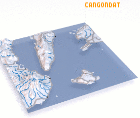 3d view of Cangondat
