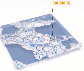3d view of Balading