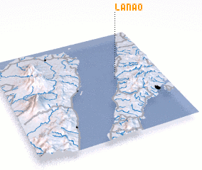 3d view of Lanao