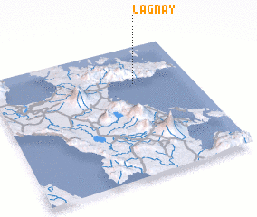 3d view of Lagnay