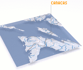 3d view of Canacas