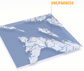 3d view of Valparaiso