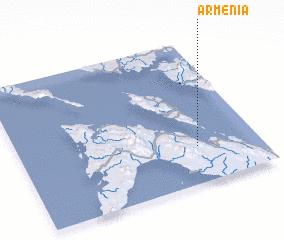 3d view of Armenia