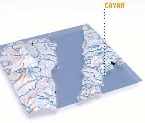 3d view of Cayam