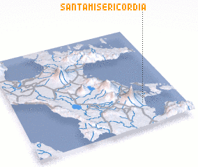 3d view of Santa Misericordia
