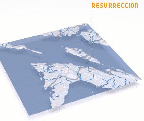 3d view of Resurreccion