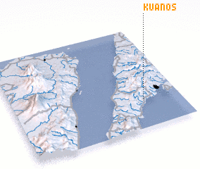 3d view of Kuanos