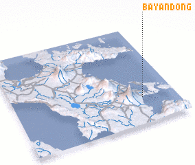 3d view of Bayandong
