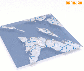 3d view of Banajao