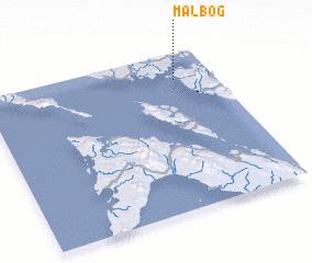 3d view of Malbog