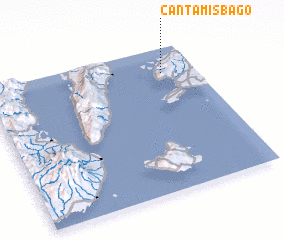 3d view of Cantam-is Bag-o