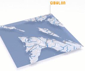 3d view of Gibalon