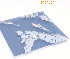 3d view of Bacalon